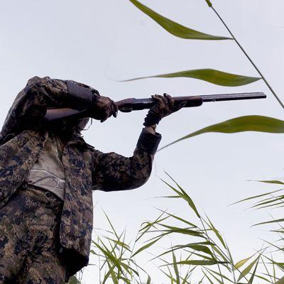 Sorsanmetsästystä Siilinjärvellä Haapalahden Soukkiossa.