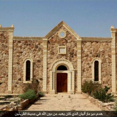 Pyhän Elianin luostari ja kirkko.