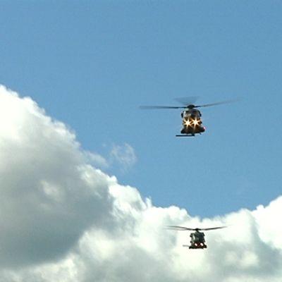 NH90-kopteri ilmassa