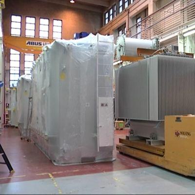 ABB:n muuntajatehdas.