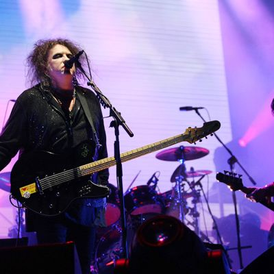 The Cure esiintyy Perussa.