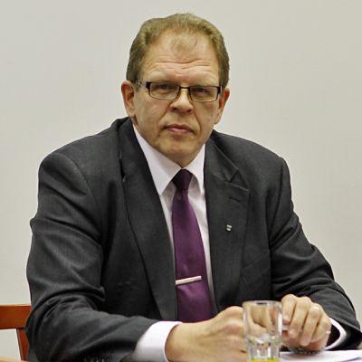 Sotkamon kunnanjohtaja Petri Kauppinen.