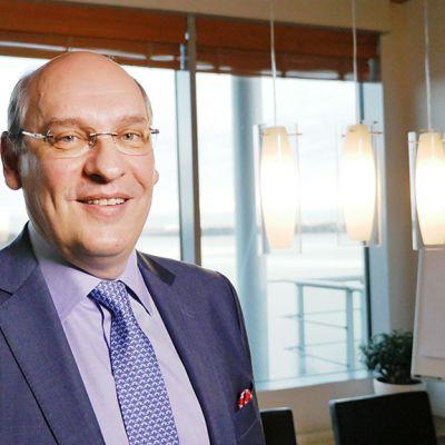 Nesteen toimitusjohtaja Matti Lievonen.