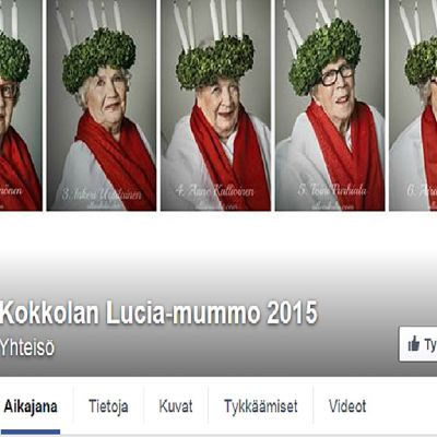 Lucia-mummoäänestyksessä on mukana 7 mummoa.