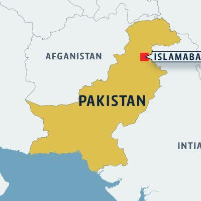 Pakistanin kartta