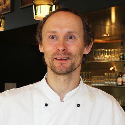 Hotelli Kultahovin keittiömestari Heikki Nikula
