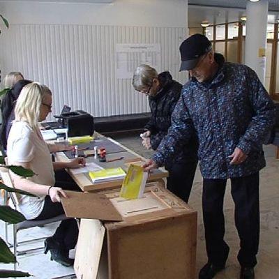 Advance voting in Rovaniemi