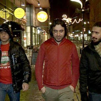 Amar Jaffar,  Ibrahim Khalf ja Mustafa Kamil.