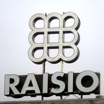 ehu- ja elintarviketeollisuutta harjoittava Raisio Oyj:n Tehtaan logo Raisiossa