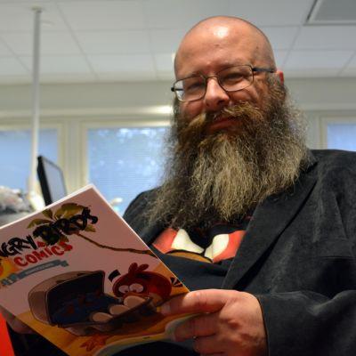 Sarjakuvaneuvos, Rovion sarjakuvien päätoimittaja Jukka Heiskanen