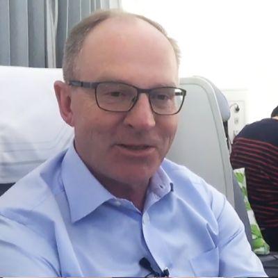 Finnairin toimitusjohtaja Pekka Vauramo