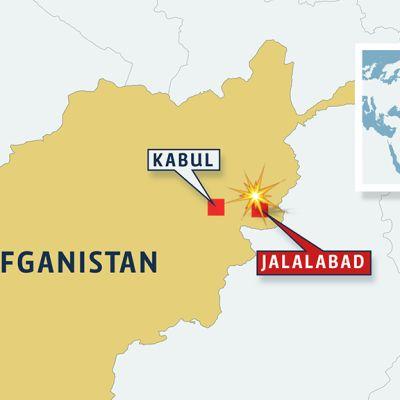 Afganistanin kartta