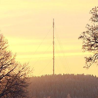 Digitan radiomasto Jyväskylän Taka-Keljossa