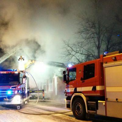 Tulipalo Ruosniemessä