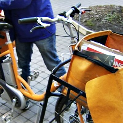 Postinjakajan polkupyörä.