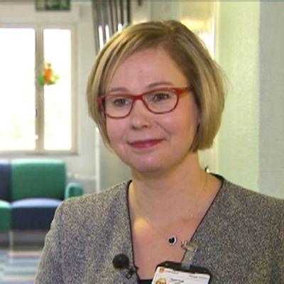 Kuntajohtajat ry:n puheenjohtaja Heidi Rämö