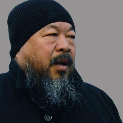 Ihmisoikeusaktivisti ja taiteilija Ai Weiwei.