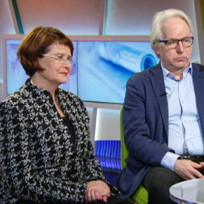 Jukka Kekkonen ja Tuula Teeri.