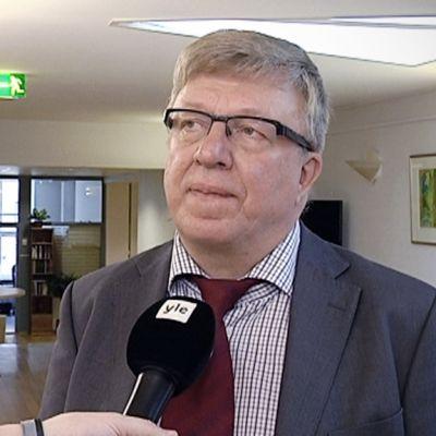 Keskustan puoluesihteeri Timo Laaninen