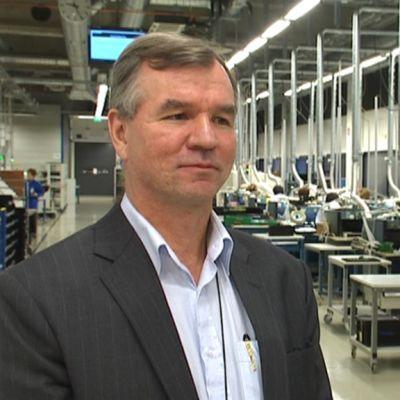 Telesten toimitusjohtaja Jukka Rinnevaara.