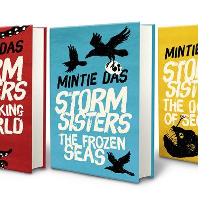 StormSisters kirjoja.