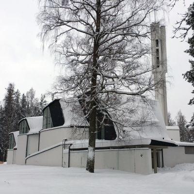 Kolmen ristin kirkko Imatralla.