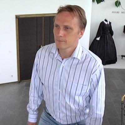 Kari Arffman on uusi Jyväskylän kaupunginteatterin johtaja.