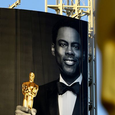 Oscar-gaalan juontaja, koomikko Chris Rock.