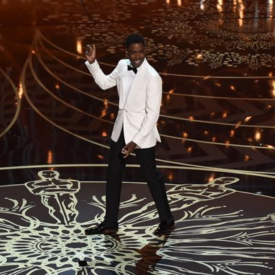 Oscar-gaalan juontaja näyttelijä Chris Rock.
