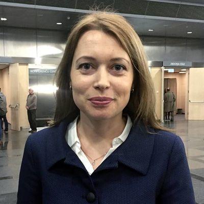 latvialainen tutkiva toimittaja Inga Springe.