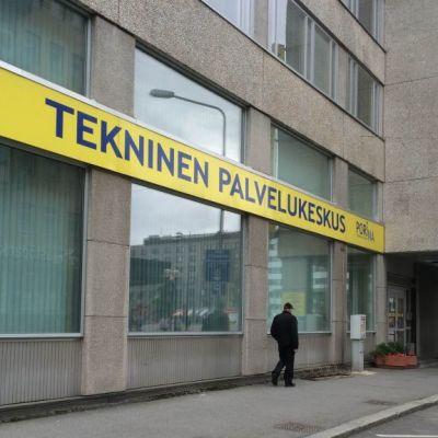 TPK Porin tkninen palvelukeskus virasto vanha postitalo Pori virkamies byrokratia