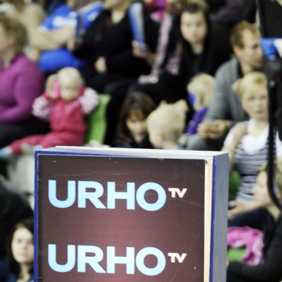 Urho tv:n live-studio.