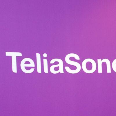 Teleoperaattoriyritys TeliaSoneran logo.