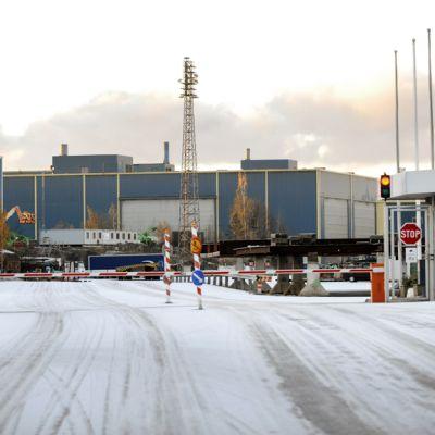 STX Finlandin telakka Turussa.