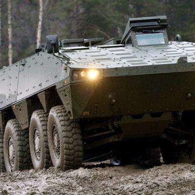 Patrian valmistamaa AMV-panssariajoneuvo.