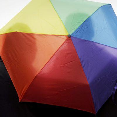 Samaa sukupuolta oleva pari seisoo yhteisen sateenvarjon alla helsingissä.