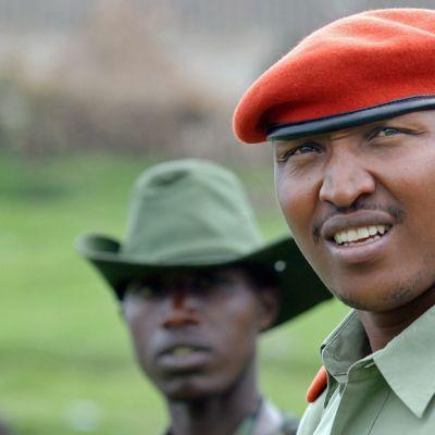 kapinallispäällikkö Bosco Ntaganda