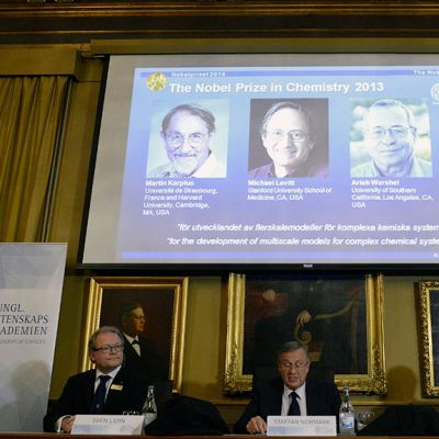 Nobelin kemianpalkinnon saajat julkistetaanTukholmassa.