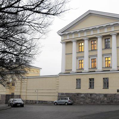 Ulkoasiainministeriö Katajanokalla Helsingissä.
