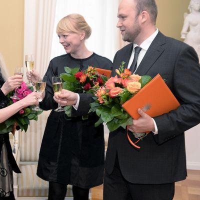 Aimo Katajamäki, Pävi Meuronen, Irma Optimisti, Selina Anttinen ja Vesa Oiva