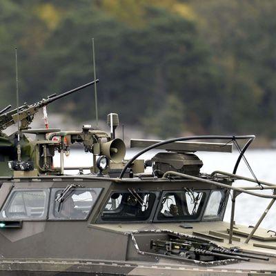 Ruotsin merivoimien partiovene.