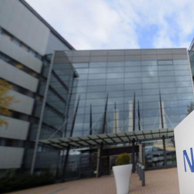 Nokian pääkonttori Espoossa 27. lokakuuta 2015.