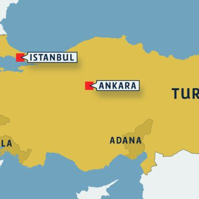 Turkin kartta.