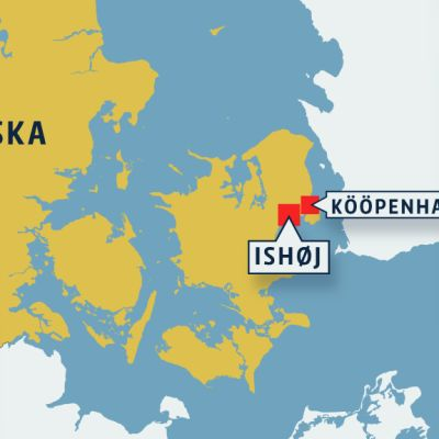 Tanskan kartta.