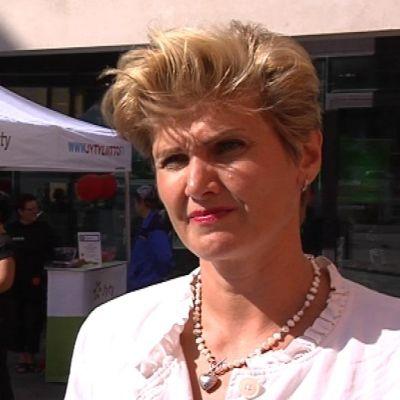 Jyty:n puheenjohtaja Maija Pihjalamäki