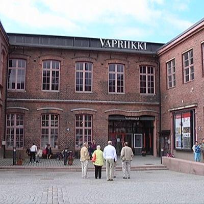 Museokeskus Vapriikki ulkoa.
