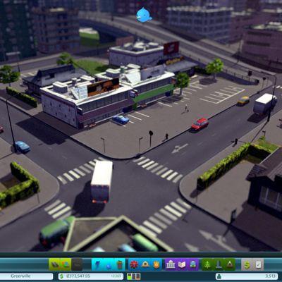 Liikennettä kaupungin kadulla.
