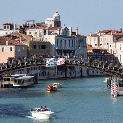 Accademia-silta Venetsiassa.