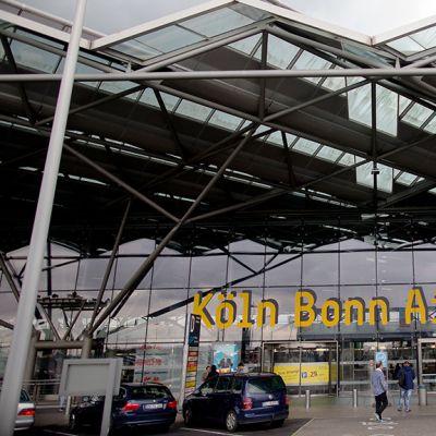 Kölnin lentokenttä.