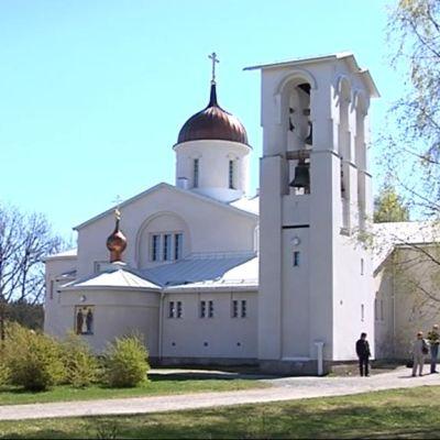 Uuden Valamon luostarin kirkko.